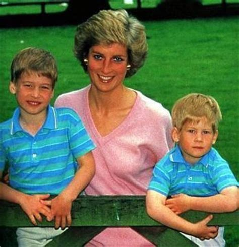 princess diana sons princess diana her sons princess diana with the boys