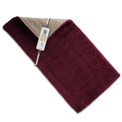 how to to on pad sunbeam 174 king size xpressheat burgundy heating pad