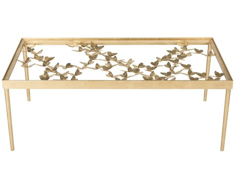 safavieh gold coffee table safavieh rosalia butterfly coffee table antique gold