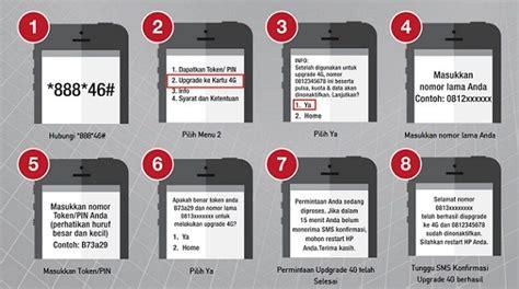 cara pindahkan paket midnight ke 4g cara upgrade kartu telkomsel 3g ke 4g tanpa ganti nomor