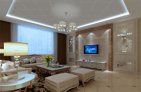 modern living room interior lighting design china