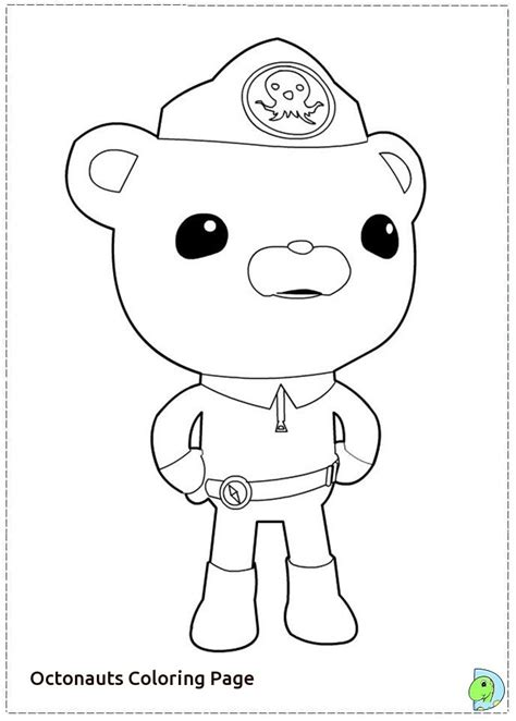 Gup C Coloring Page by Octonauts Printable Coloring Pages Printable Coloring Page