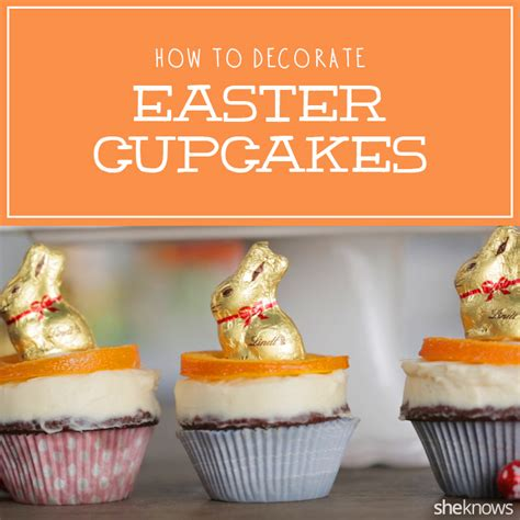 how to decorate cupcakes how to decorate easter chocolate cupcakes