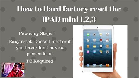format mac mini to factory how to hard factory reset ipad mini 1 2 3 ad tech