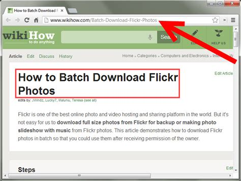 How To A by How To Find And Creative Commons Images From Flickr