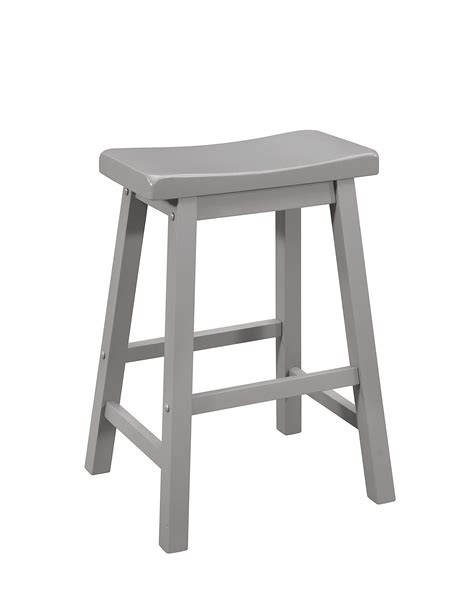 Wood Bar Stool Set by Coaster 180178 Grey Wood Bar Stools Set Of 2