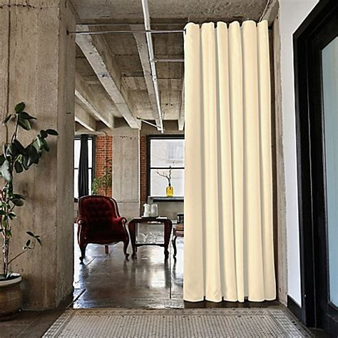 room dividers now buy room dividers now small tension rod room divider kit b with 9 foot curtain panel in pearl