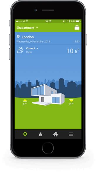 smart home app f 252 r iphone android uvm loxone