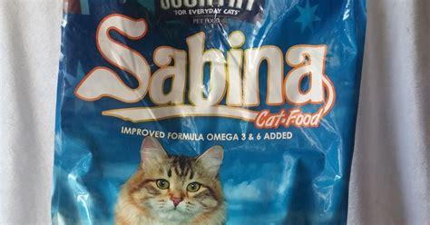 Sabina Cat Food sabina cat food 20kg rayrainbow petshop