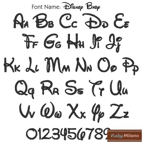 printable baby fonts free disney font coloring pages