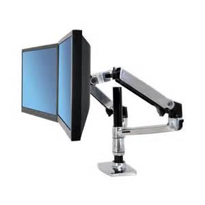 Tall Corner Desk Ergotron Lx Dual Stacking Monitor Arm