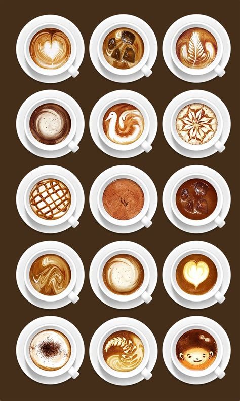 latte art pattern names best 25 latte art tutorial ideas on pinterest how to