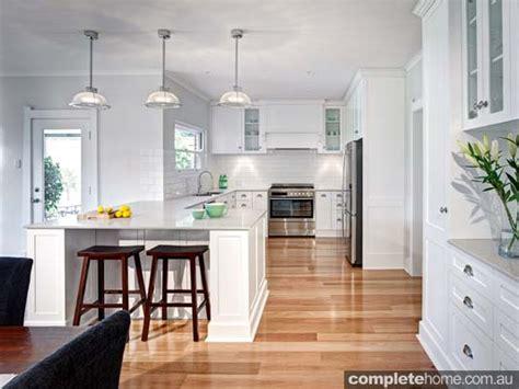 white kitchen transformation completehome