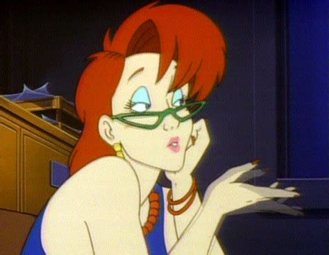 janine melnitz, 'the real ghostbusters' the sexiest tv