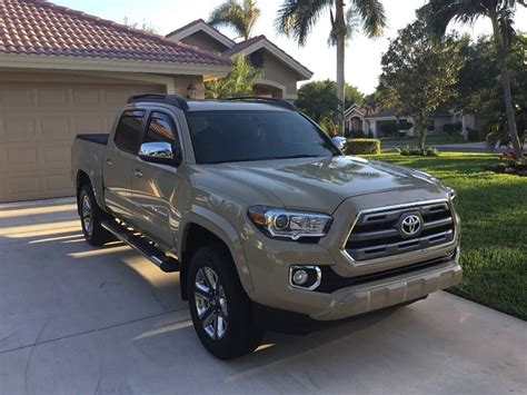 Tacoma Toyota For Sale Almost New 2016 Toyota Tacoma Limited 4 215 4 For Sale