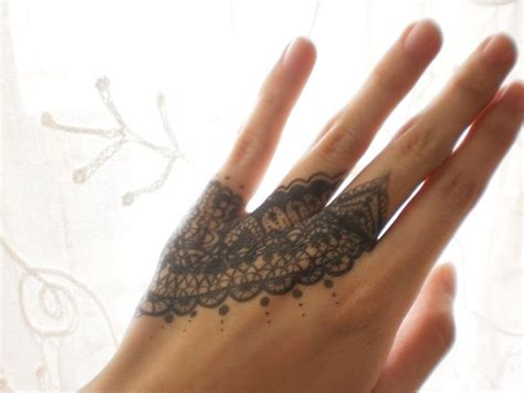 lace hand tattoo discover and save creative ideas