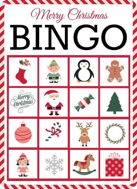 Winter Bingo Card Template by Bingo Free Printable Grace And Eats