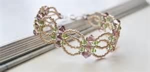 Handmade Beaded Bracelets How To Make - diy handmade flower bracelet with seed and glass