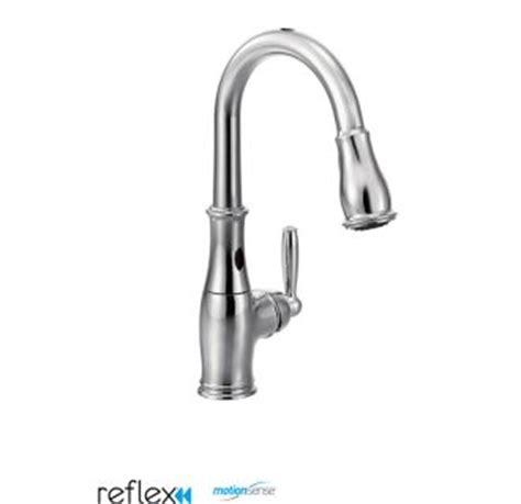7185ec moen brantford series hands free kitchen faucet moen 7185ec chrome single handle pullout spray kitchen