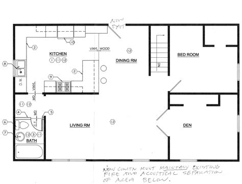 kitchen floorplan floor plans this odd house