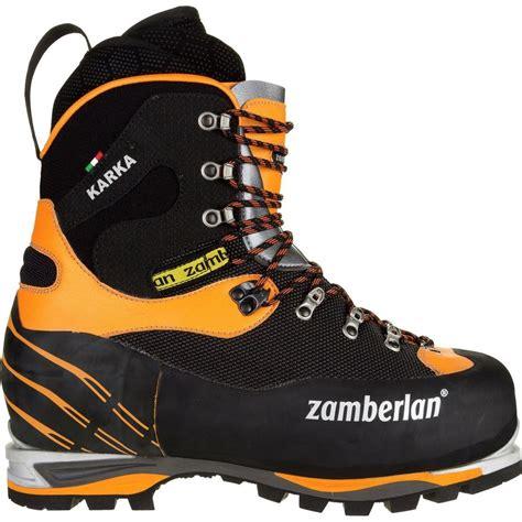 s mountaineering boots zamberlan 6000 karka evo rr mountaineering boot s
