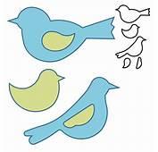 Best Photos Of Bird Pattern Template  Cut