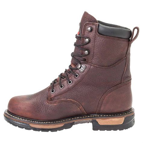 mens insulated waterproof boots rocky fq0005694 mens ironclad lace up insulated waterproof