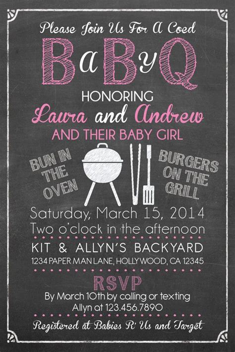 Free Baby Q Invitations Templates 25 best ideas about baby q shower on baby q invitations summer baby and