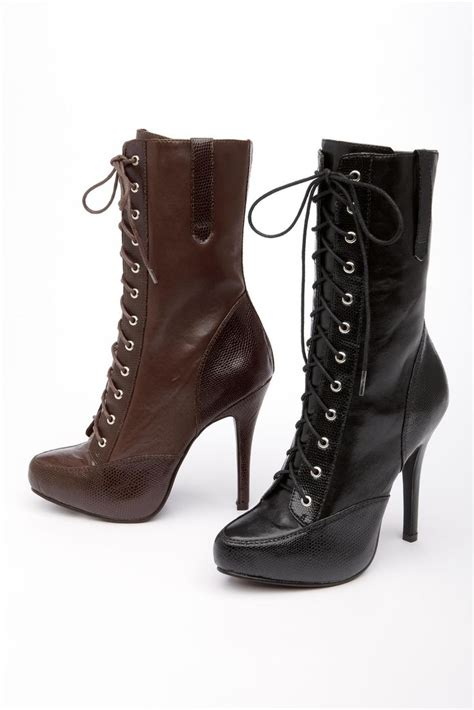 laced up high heel boots lace up high heel boots heels me