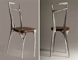 Alu Chair Design Ideas I Make Unique Furniture By Pouring Cast Aluminum Onto Wood Bored Panda