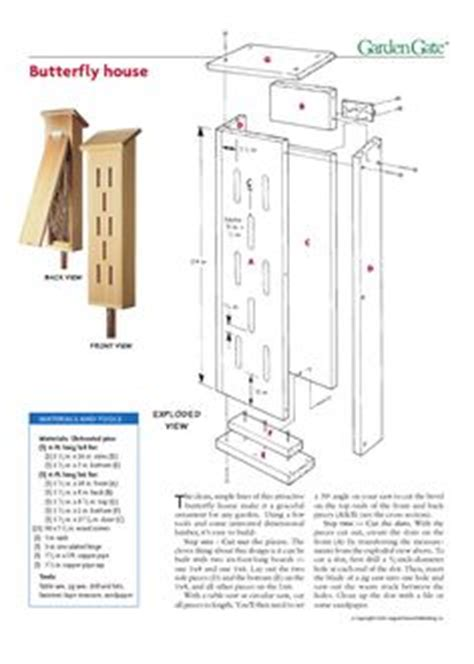 bug house plans 1000 ideas about butterfly house on pinterest birdhouses butterfly feeder and