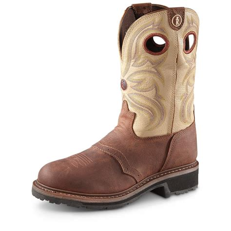 mens steel toed boots tony lama s 3r cowboy work boots steel toe
