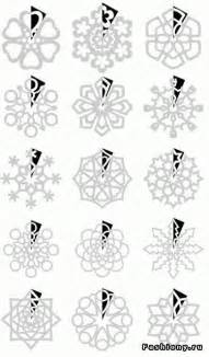 How To Fold And Cut Paper Snowflakes - paper snowflakes snowflakes and snowflake pattern on