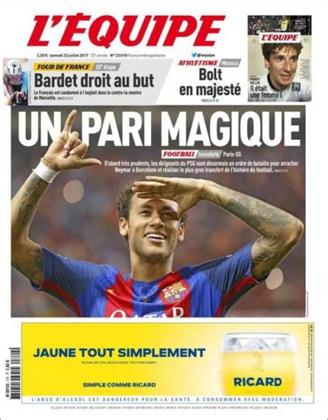 Newspaper L'Equipe (France). Newspapers in France. Today's ... L Equipe