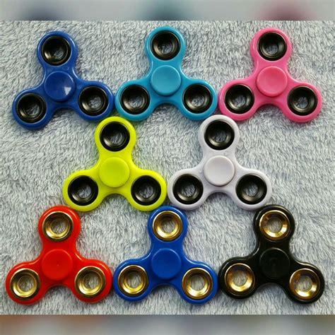 Unik Fidget Finger Spinner Mainan Metal Be Murah 2 fidget spinner spinner finger ukuran besar tri bar bearing hitam 776 barang unik china