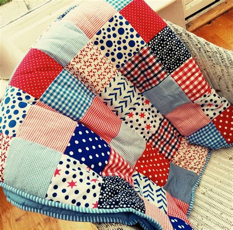 patchwork quilt patchwork quilt personalised and boys by the
