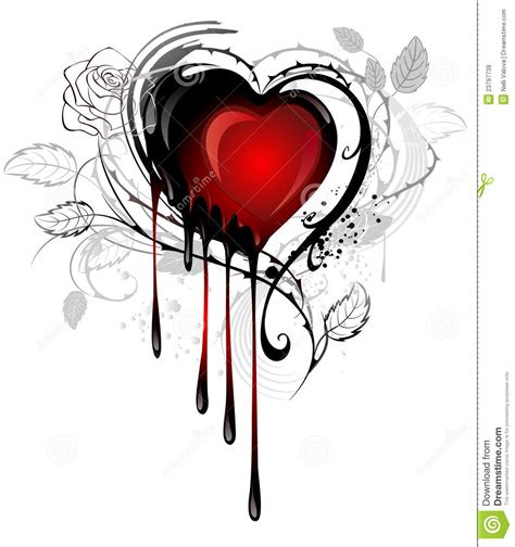 heart drawn with paint royalty free stock images image