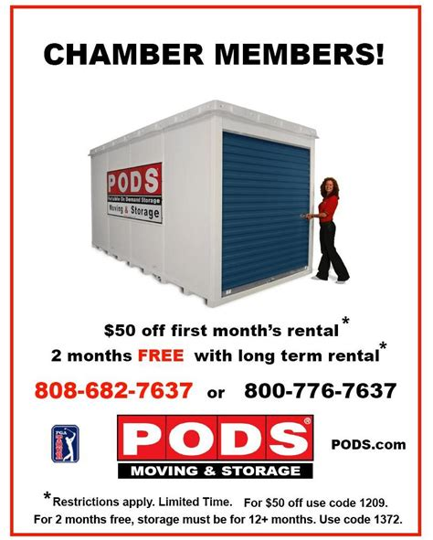 pods cost per month