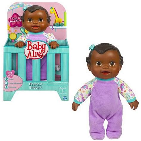 Baby Bouncer Hugo baby alive bouncing babbles black baby doll hasbro
