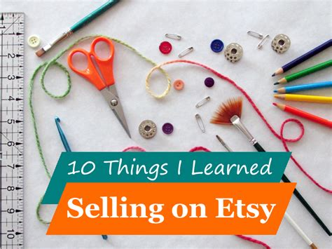 Handmade Items That Sell Well On Etsy - 10 things i learned selling on etsy the chilly