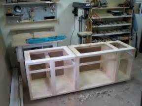 woodworking my custom kitchen cabinets pics only