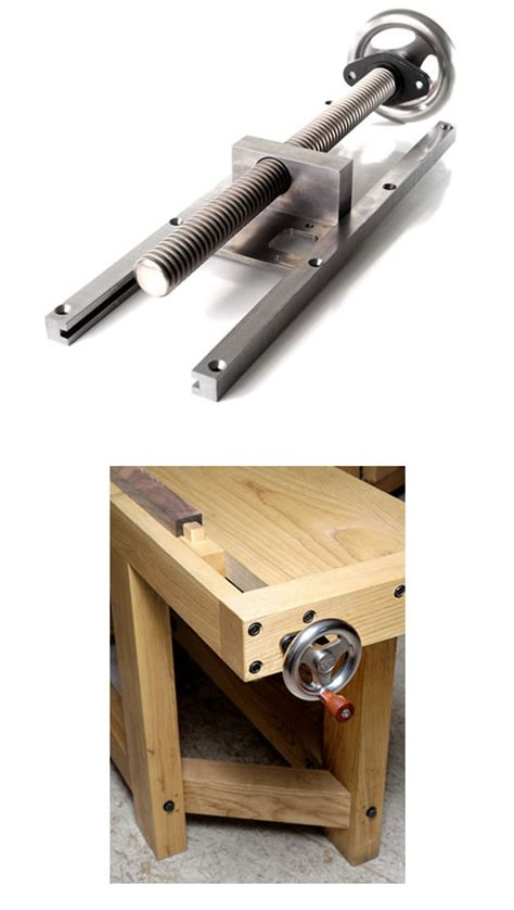 bench mounted vice benchcraft tail vise an attractive way to incorporate a