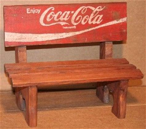coca cola bench 1000 images about coca cola furniture on pinterest