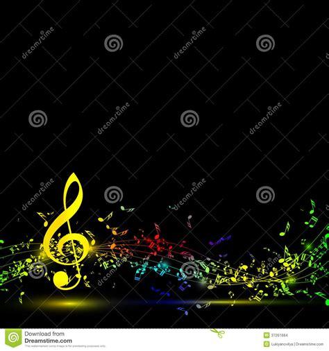 imagenes musicales para fondos fondo del personal de las notas musicales en negro