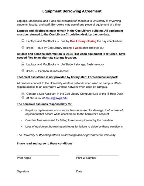 6 Equipment Loan Agreement Templates Pdf Free Premium Templates Equipment Finance Agreement Template