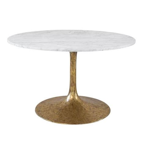 white and gold table white and gold iris dining table