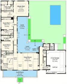 L Shaped Floor Plans by 25 Best Ideas About L Shaped House Plans On Pinterest L