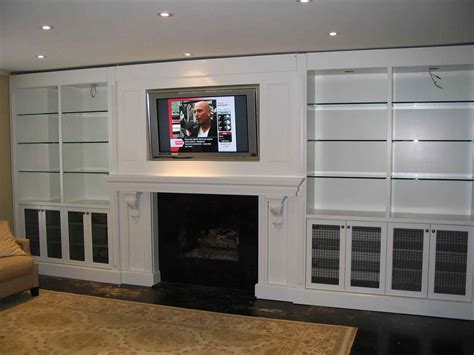 built in wall unit with desk and tv living room wall units with fireplace entertainment center