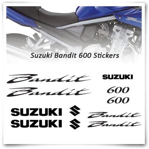 Suzuki Bandit Aufkleber by Bandit 600 Stickers Suzuki Motor Stickers Motodesign