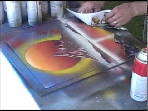Sprei Fata No 1 Violet spray paint live painting 2 of 8 sun and violet